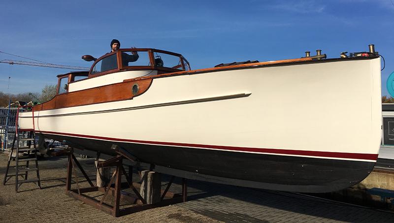 Bateau Classic 1935, yacht de 11m de long